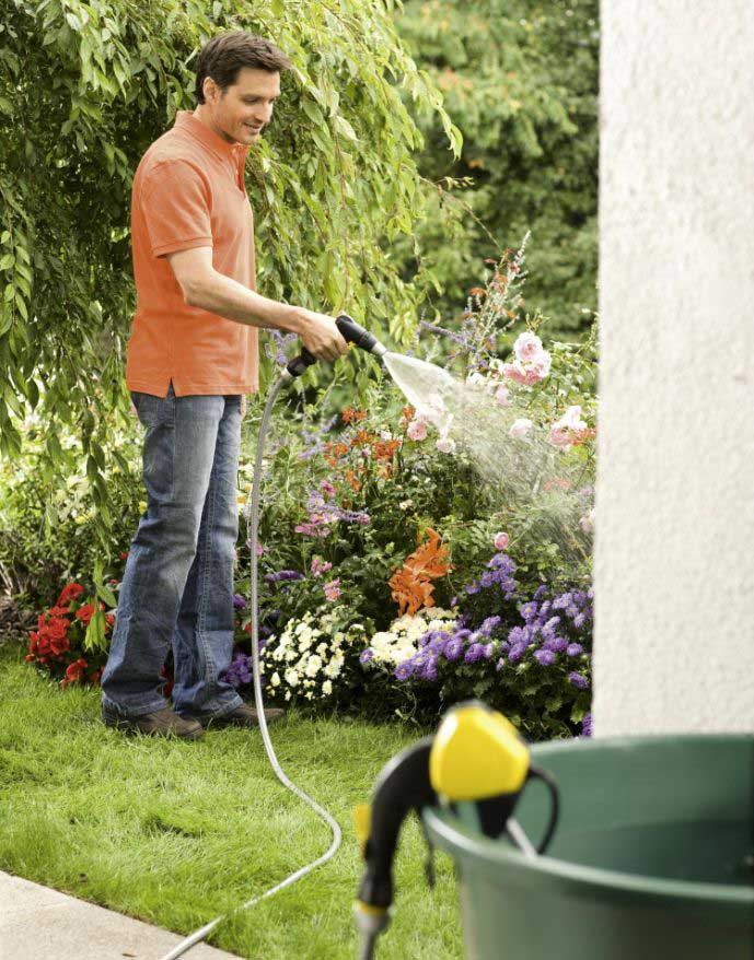 Своими руками помпа для полива огорода